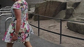 Miss Penelope Floral Print Summer Mini-Dress 1