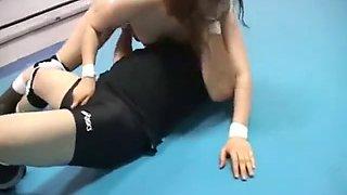 Mix Wrestling Female lose