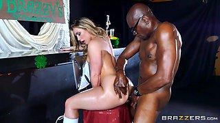 Brazzers - Aj Applegate gets a BBC in her ass
