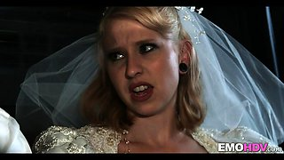 Interracial with Bride to be