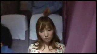 Jap On Bus 04