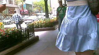 Black Chick Windy Skirt