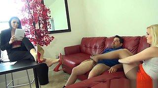 Babysitter Amanda Bryant Footjob To Get Raise HD (1080P)