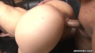 desperate office girl arisa suzuki seduces bosses to keep her job