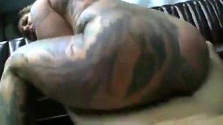 Full tattooed and pierced