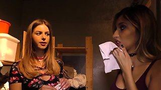 Stella Cox and Jade Jantzen Try BBC Anal - Gloryhole