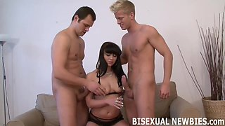 I am really looking forward to my first bisexual threesome