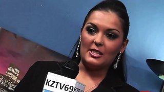 ZVIDZ - Kinky Tarra White And Jasmine Black Fuck In Group