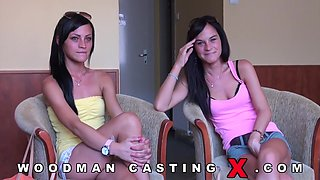 Jessy and Cats Taylor casting of two sisters