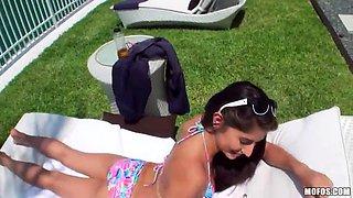 amazing sex with the gorgeous teen latina megan salinas