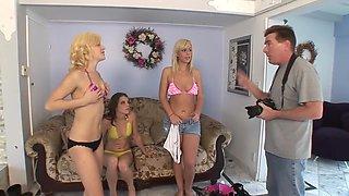 Best pornstar in amazing dp, cumshots porn movie