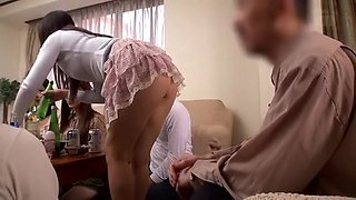 Daughter-in-law Who Son Of Miniskirt Appearance Met After A Long Time Tempted Me In Skirt! Sons Is The Frustration In The herbivorous, Daughter-in-law We Will You Wish The Switch Port ? My A strong, Silent Type Very Much ...