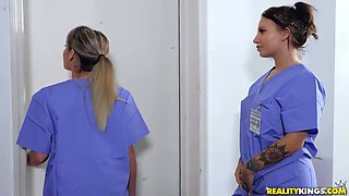 Colleagues Wont Let Noob Nurse Get Fucked In Piece - Jmac And Skylar Vox