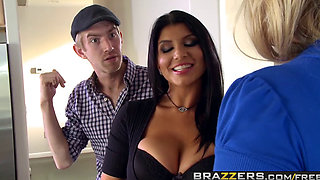 Brazzers   Pornstars Like it Big   Melissa May Romi Rain Danny D   Room Board and Bang