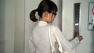 Crazy Japanese girl in Horny CFNM, Blowjob JAV movie