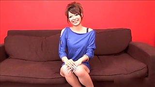Horny Japanese chick Rukia Mochizuki in Best JAV uncensored Dildos/Toys scene