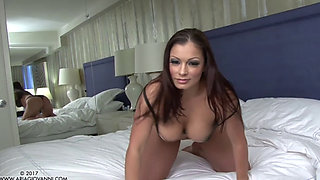 Aria Giovanni playing with herself