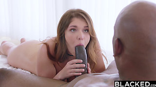 BLACKED Busty Sorority Girl Craves BBC