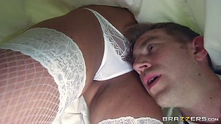 Hot bride takes a huge cock up her asshole