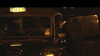 Female Fake Taxi Big black cock fucks horny driver