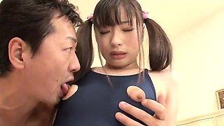 Perfect stimulation for young hottie Shizuku