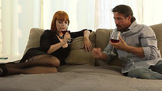 Lovely Penny Pax cannot resist a handsome stud's big cock