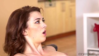 Max Dyor & Tera Link in Freckled redhead has romantic sex - DaneJones