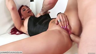 Red-haired mother ryder skye gets anal punishment