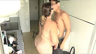 Mayra wishes to fuck her best friend's son!