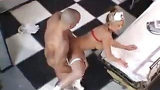 Big Tits Nurse Doggy Style Fucking