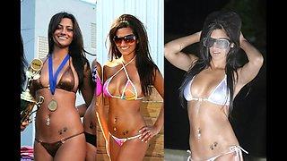 Michelle Kassandra Bikini Ass Jerk Off Challenge