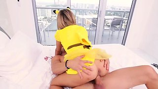 Blonde teen bride first time The Last Pikahoe