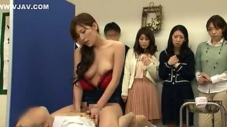 Crazy Japanese whore Yuna Shiina, Hitomi Honjou in Exotic Creampie, Swallow JAV scene