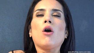 Beautiful Latina with big-tits gets fucked hard