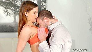 Exotic pornstars Barbara Bieber, Adam Black in Amazing Redhead, Tattoos adult video
