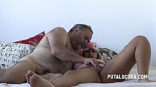 Old Guy With Thick Dick Fucks Curvy Teenager - 18 Years Old