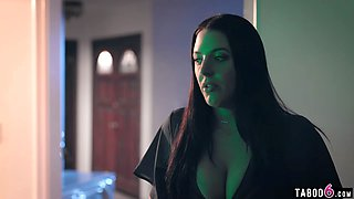Cheating big boobs wife Angela White makes husband jealous