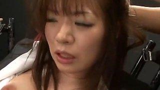 Amazing Japanese chick Nao Mizuki in Crazy Fetish, BDSM JAV movie