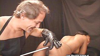 Hot Black Teen Meets Whacko BDSM Doctor