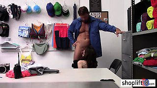 Perverted coach stretchs blonde MILF before passion sex