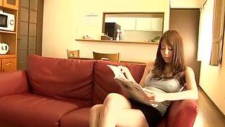 Crazy Japanese model Akari Asakiri in Horny Big Tits, Doggy Style JAV scene