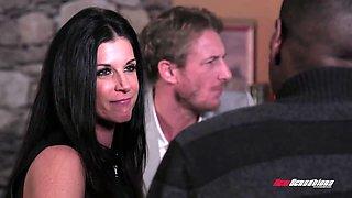 Slutty busty cheating wife India Summer is hammered by Jon Jon
