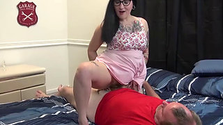 NastyPlace.org - Daddys Anal Princess Get His Sperm In Asshole
