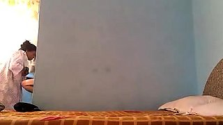 Lustful Indian wife gets nailed by her lover on hidden cam