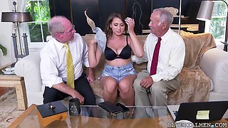 ivy rose fucked by old grandfather