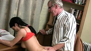 Pretty young russian perfection gets access to a meat
