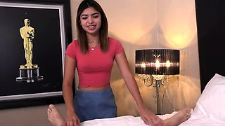 Fuck romance with stepdaughter