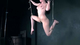 Luna Rival tied up and abused by a madwoman