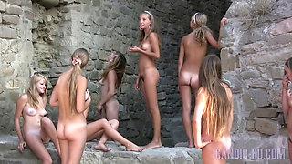 8 lovely girls
