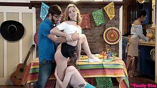 Dailyxporno.com new family threesome
